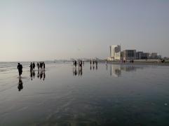 La plage Karachi