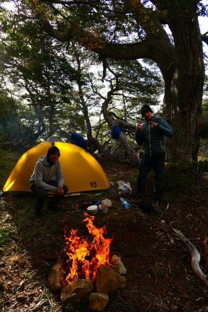 Camping parfait!