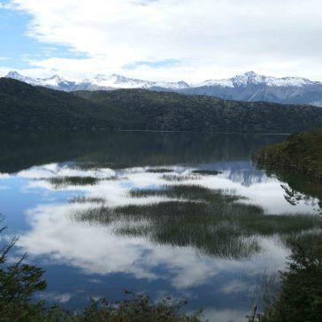 Les nuages se reflétant dans les lacs! Juste magnifique