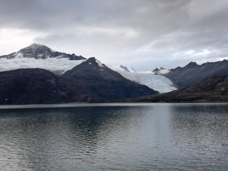 Glacier sur canal de Beagle