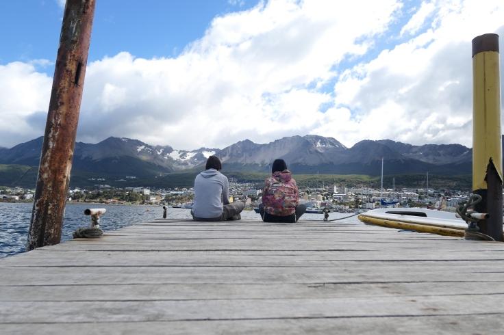 Un port en Patagonie