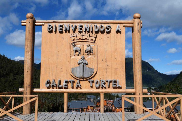 Bienvenido à Caleta Tortel