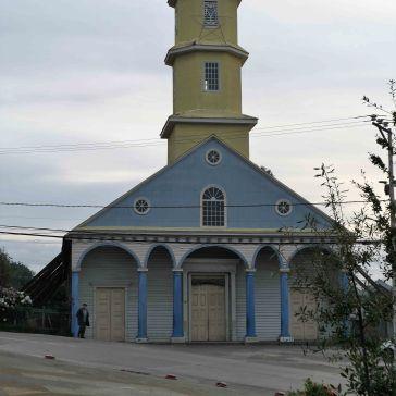 Eglise de Conchi classé au patrimoine mondial de l'humanité