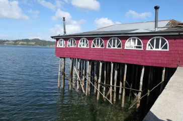 Palafitos à Chiloe