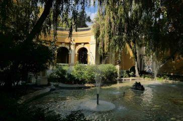 Fontaine dans le cerro castillo
