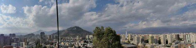 Vue depuis de Cerro Santa Maria