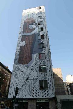 Le street art au coeur des rues de Santiago
